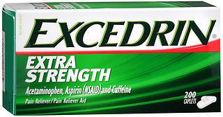 EXCEDRIN CAP EXT STR 200