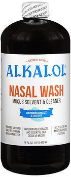 ALKALOL NASAL WASH LIQUID - 16OZ