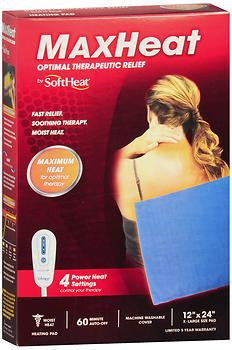 SoftHeat MaxHeat Optimal Therapeutic Relief Moist Heat Heating Pad - 1 EA