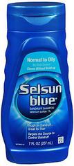 Selsun Blue Dandruff Shampoo Normal to Oily - 7 OZ