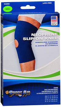 Sport Aid Neoprene Slip-On Knee Support Small - 1 EA