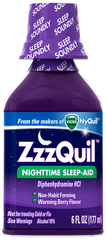 ZzzQuil Liquid Warming Berry Flavor - 6 OZ