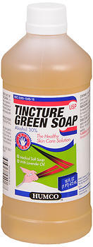 Humco Tincture Green Soap - 16 OZ