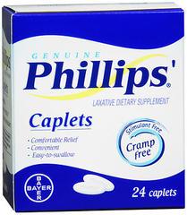 Phillips' Laxative Caplets - 24 TAB