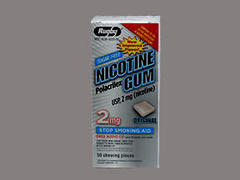 NICOTINE GUM 2MG REF WAT 50