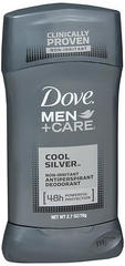 Dove Men + Care Antiperspirant Deodorant Cool Silver - 2.7 OZ