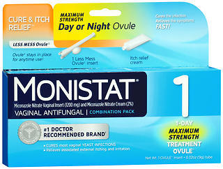 MONISTAT 1 Combination Pack Day or Night - 1 EA