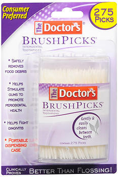 The Doctor's BrushPicks - 275 EA