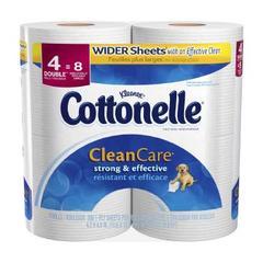 COTTNL CLN CARE 4ROLL 208 CT12