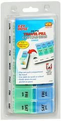 Ezy Dose AM/PM Travel Pill Container 67010 - 1 EA