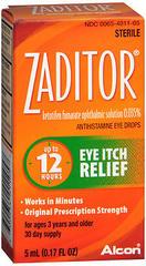 Zaditor Eye Itch Relief Eye Drops - 1 EA