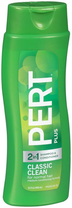 Pert Plus 2 In 1 Shampoo & Conditioner Classic Clean - 3.5 OZ