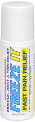 Freeze-It Muscle, Joint & Pain Relief Roll-On - 3 OZ