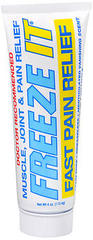Freeze It Muscle, Joint & Pain Relief Gel - 4 OZ