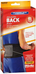 Mueller Sport Care Adjustable Back Brace One Size 6711 - 1 EA