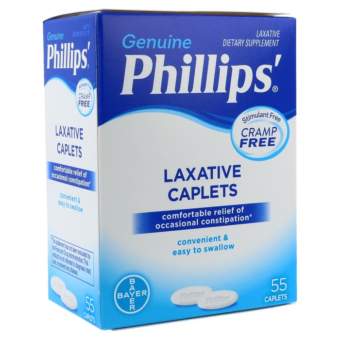Phillips' Laxative Caplets - 55 TAB