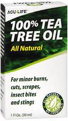 Acu-Life 100% Tea Tree Oil - 1 OZ
