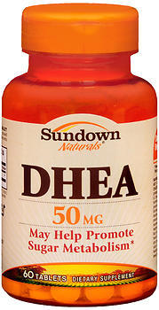Sundown Naturals DHEA 50 mg Tablets - 60 TAB