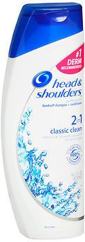 Head & Shoulders 2-in-1 Dandruff Shampoo + Conditioner Classic Clean - 13.5 OZ