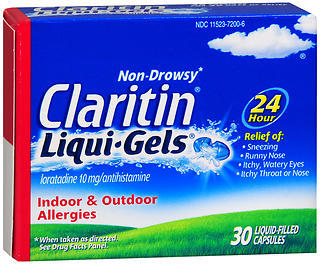 CLARITIN 24 Hour Allergy Liqui-Gels - 30 CAP