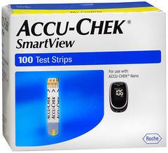 ACCU-CHEK SmartView Test Strips - 100 EA