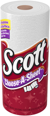 SCOTT TOWELS SNGL ROLL 102SHT
