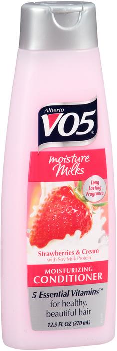 VO5 Moisture Milks Moisturizing Conditioner Strawberries & Cream - 12.5 OZ
