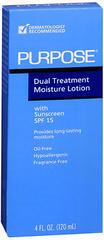 PURPOSE Dual Treatment Moisture Lotion with SPF 15 - 4 OZ