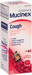 Mucinex Children's Cough Liquid Cherry Flavor - 4 OZ