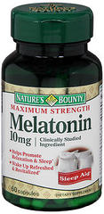 Nature's Bounty Melatonin 10 mg Capsules Maximum Strength - 60 TAB
