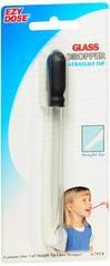 Ezy-Dose Straight Tip Glass Dropper 67024 - 6 EA