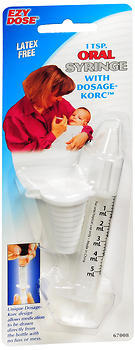 Ezy Dose 1 Tsp. Oral Syringe 67008 - 6 EA