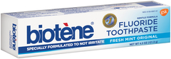 Biotene Dry Mouth Toothpaste Fresh Mint Original - 4.3 OZ