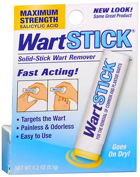 Wart Stick Solid-Stick Wart Remover Maximum Strength - 0.2 OZ