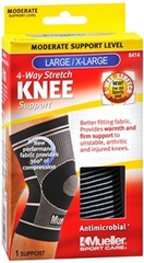KNEE SUPP 4-WAY LG/XL MUE 6414