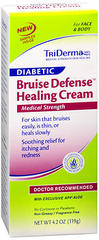TriDerma MD Diabetic Bruise Defense Healing Cream - 4.2 OZ