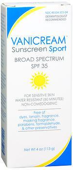 Vanicream Sunscreen Sport Lotion SPF 35 - 4 OZ