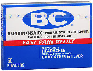 BC Headaches Formula Pain Reliever Powders - 50 EA