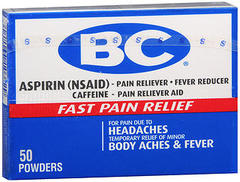 BC Headaches Formula Pain Reliever Powders - 50 EA