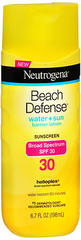 Neutrogena Beach Defense Sunscreen Lotion SPF 30 - 6.7 OZ