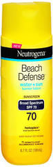 Neutrogena Beach Defense Sunscreen Lotion SPF 70 - 6.7 OZ