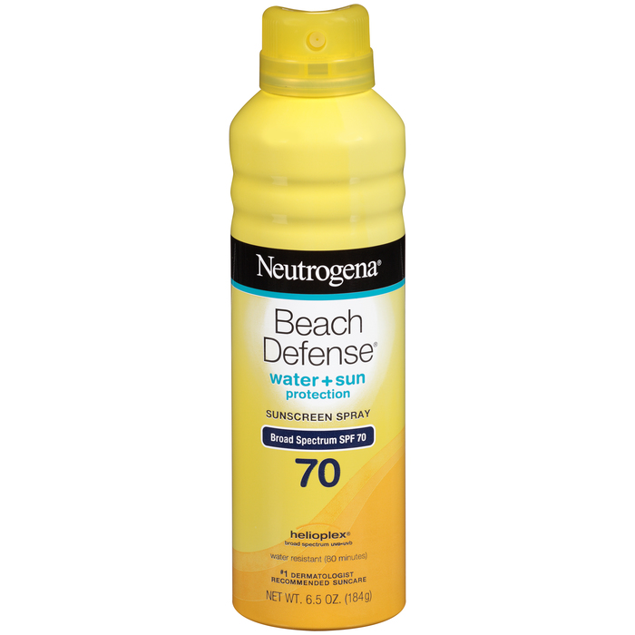 Neutrogena Beach Defense Sunscreen Spray SPF 70 - 6.5 OZ