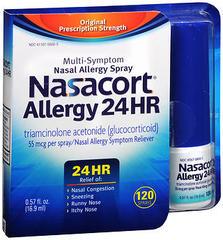 Nasacort Allergy 24 Hr Multi-Symptom Nasal Allergy Spray - 0.57 OZ