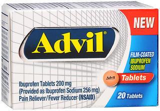 Advil Ibuprofen Tablets - 20 TAB