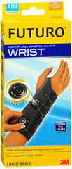 3M Futuro Custom Fit Adjustable Wrist Stabilizer Right Hand 601602 - 1 EA