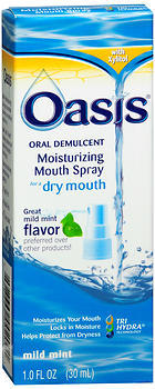 Oasis Moisturizing Mouth Spray Mild Mint - 1 OZ