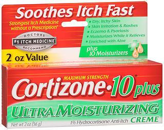Cortizone?10 Plus Ultra Moisturizing Anti-Itch Cr