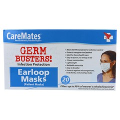 CareMates Patient Masks - 20 EA