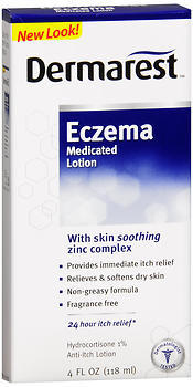 DERMAREST Eczema Medicated Lotion - 4 OZ