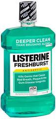 Listerine Antiseptic Mouthwash FreshBurst - 50.7 OZ